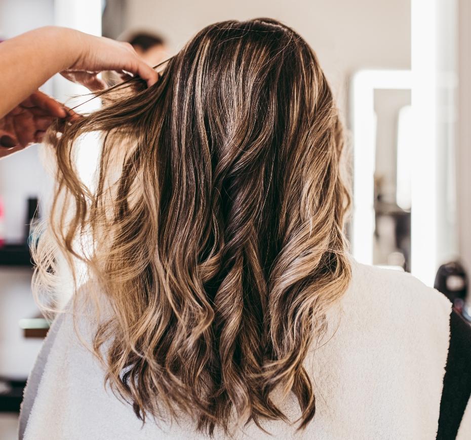 układnie włosów